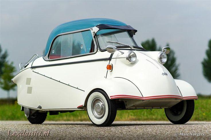 Rond 1952 ontwikkelt vliegtuigingenieur Fritz Fend een driewielige invalidenauto met een Sachs-motortje achterin, die al snel omarmd wordt als goedkoo...