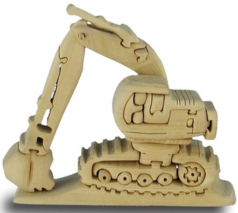 excavator 3d jigsaw puzzle  http://www.craftypuzzles.com/jigsaw_puzzles.htm