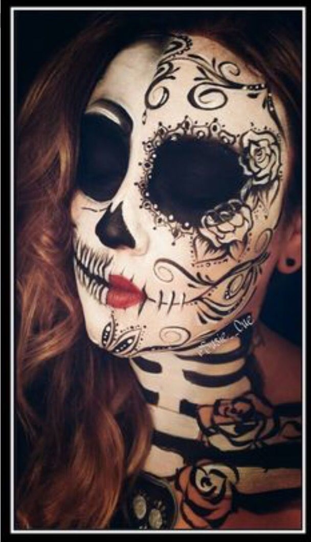 I love this make-up Day of the dead