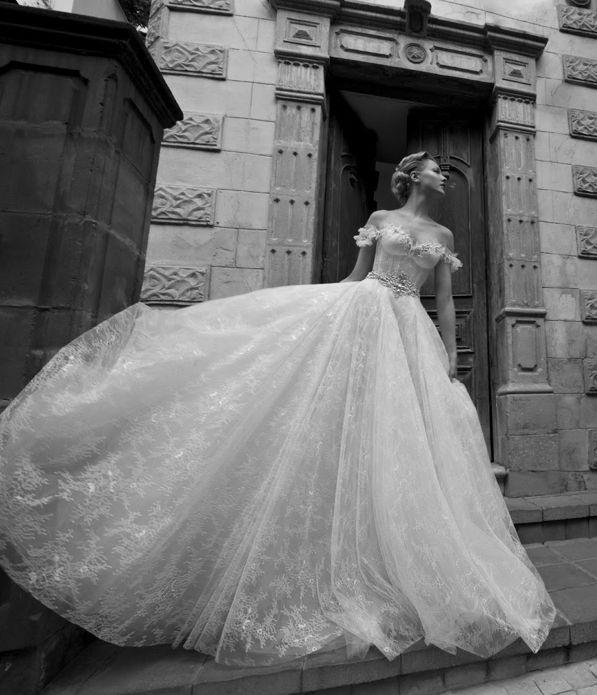 fairy tale wedding dress / galia lahav