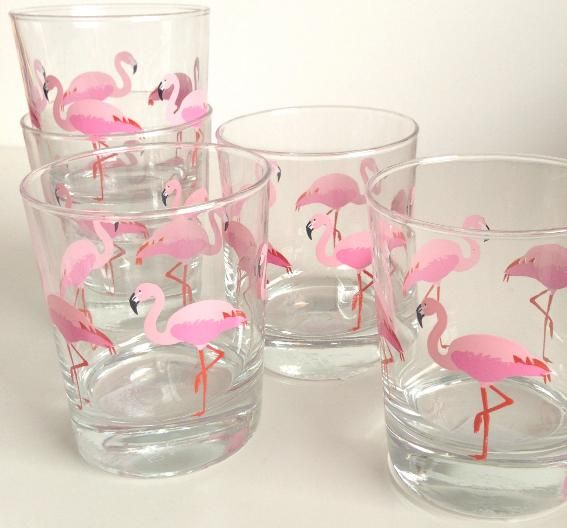 Bicchieri flamingo