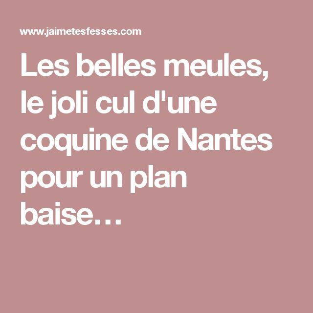 Les belles meules, le joli cul d'une coquine de Nantes pour un plan baise…