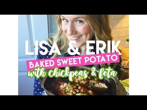 Sötpotatis i ugn med fetaost | Lisa och Eriks hälsoblogg