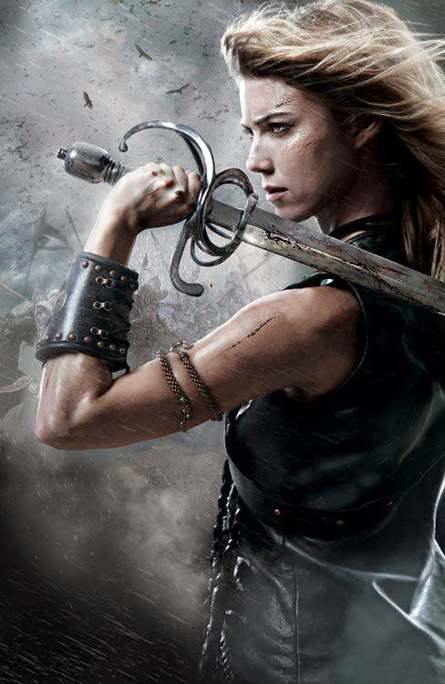 Valkyrie- love this as a tat, but would like her with some braids, a helmet, and more armor