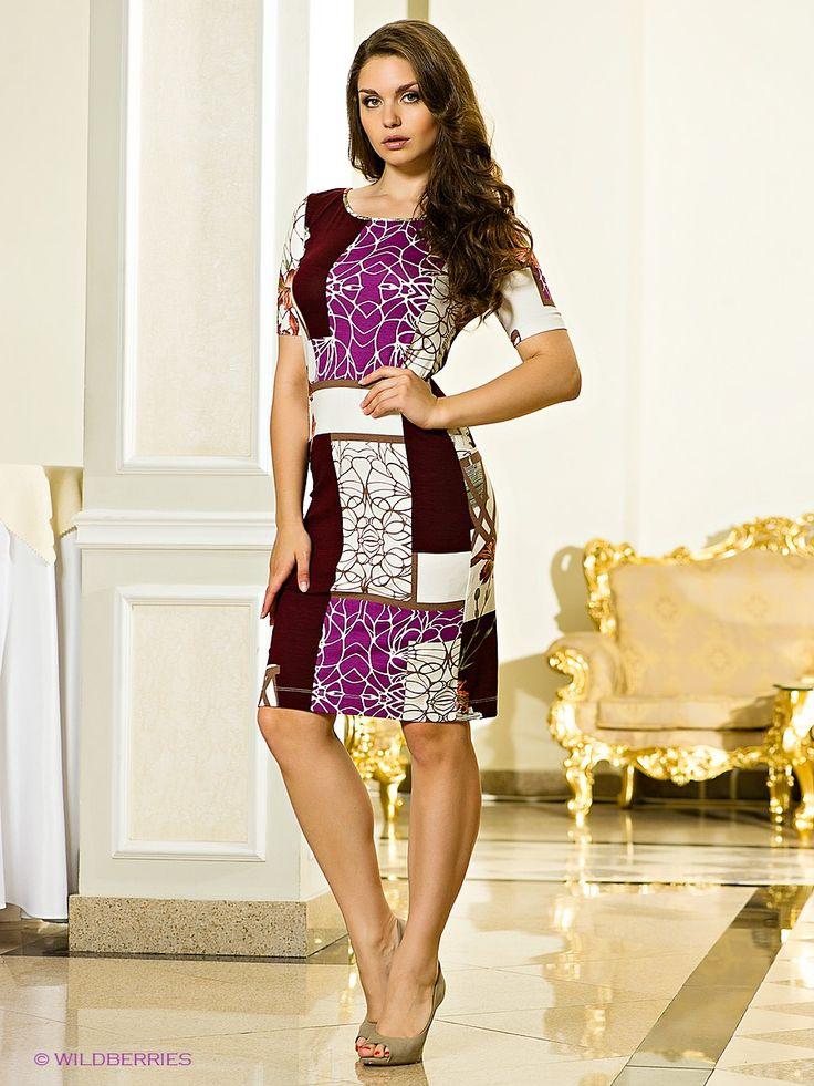 Прекрасное, трикотажное платье, оформленное ярким рисунком. Изделие с округлым вырезом горловины. Модель универсальной, средней длины. #платье #платья #модныеплатья #лето #офисные #летние #вечерние #накаждыйдень #нарядные #выпускные