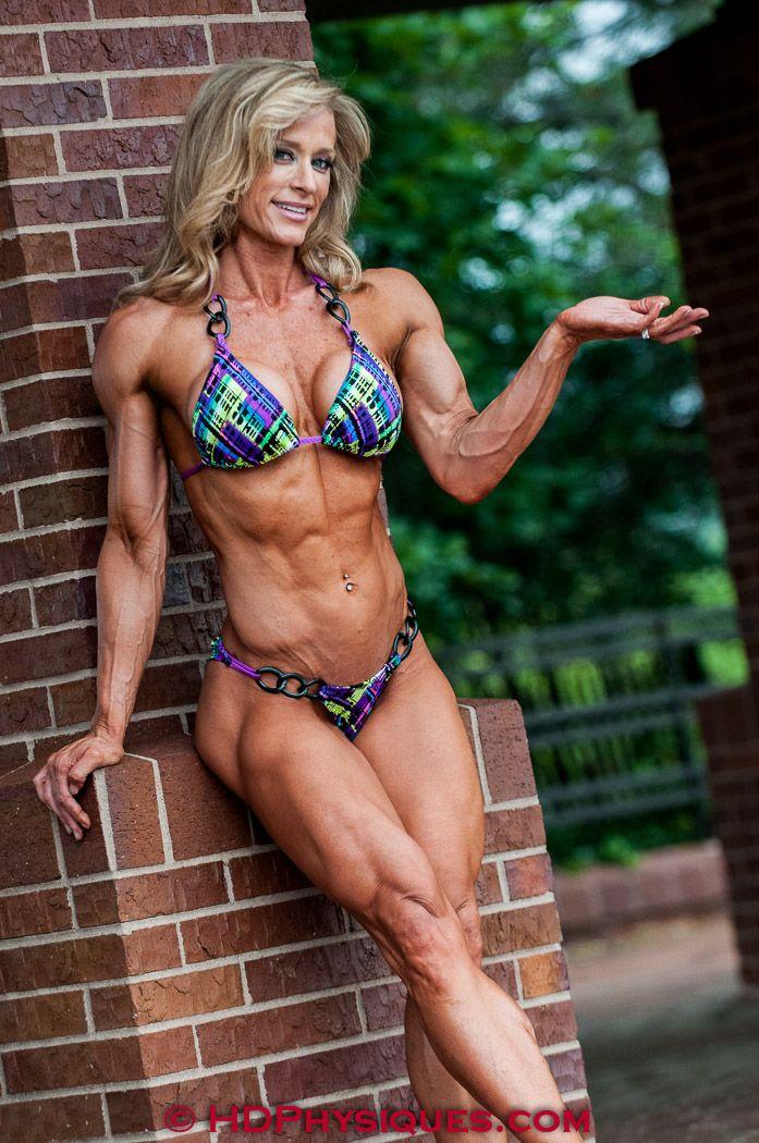 Women muscle female mature