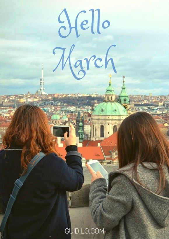 March Events in Prague