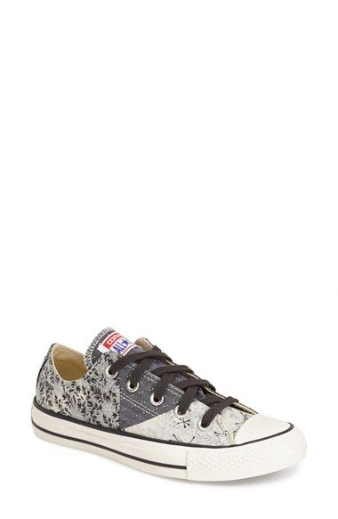 Converse+Chuck+Taylor®+All+Star®+Patchwork+Bandana+Canvas+Sneaker+(Women)+available+at+#Nordstrom