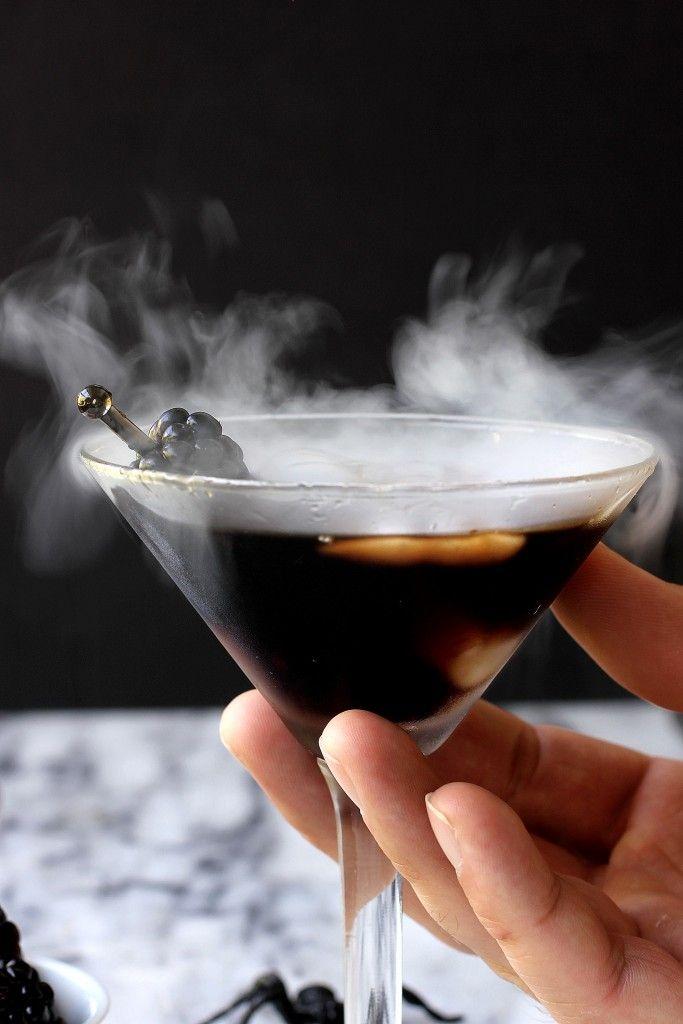 Patron Incendio Spooky Halloween Cocktail