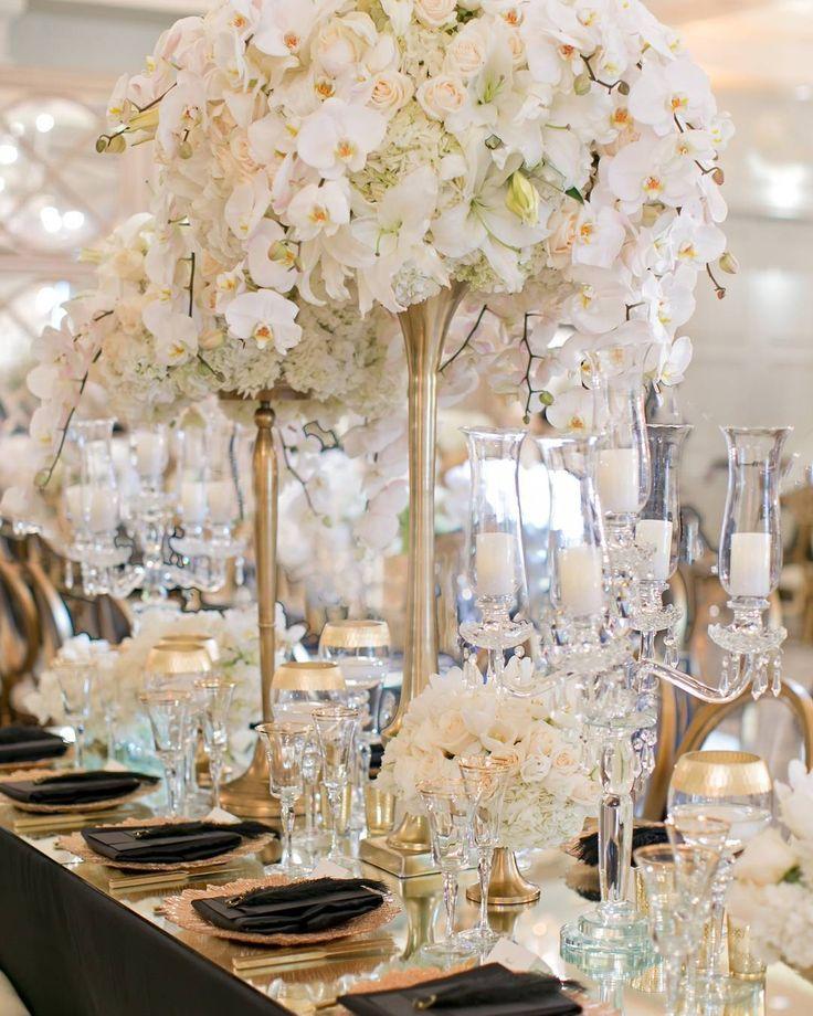 Ideas about candelabra wedding centerpieces on
