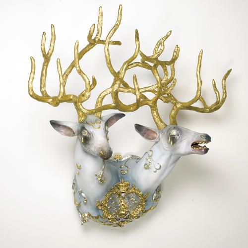 Explore The Man/Beast Bond With Elizabeth McGrath's Freakish, Fantastic Animal Art |