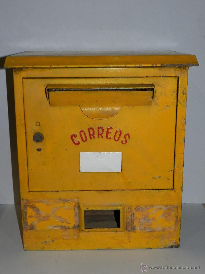 (M) BUZON DE CORREOS AMARILLO - 49'5 X 26 X 42 CM, VER FOTOGRAFIAS ADICIONALES