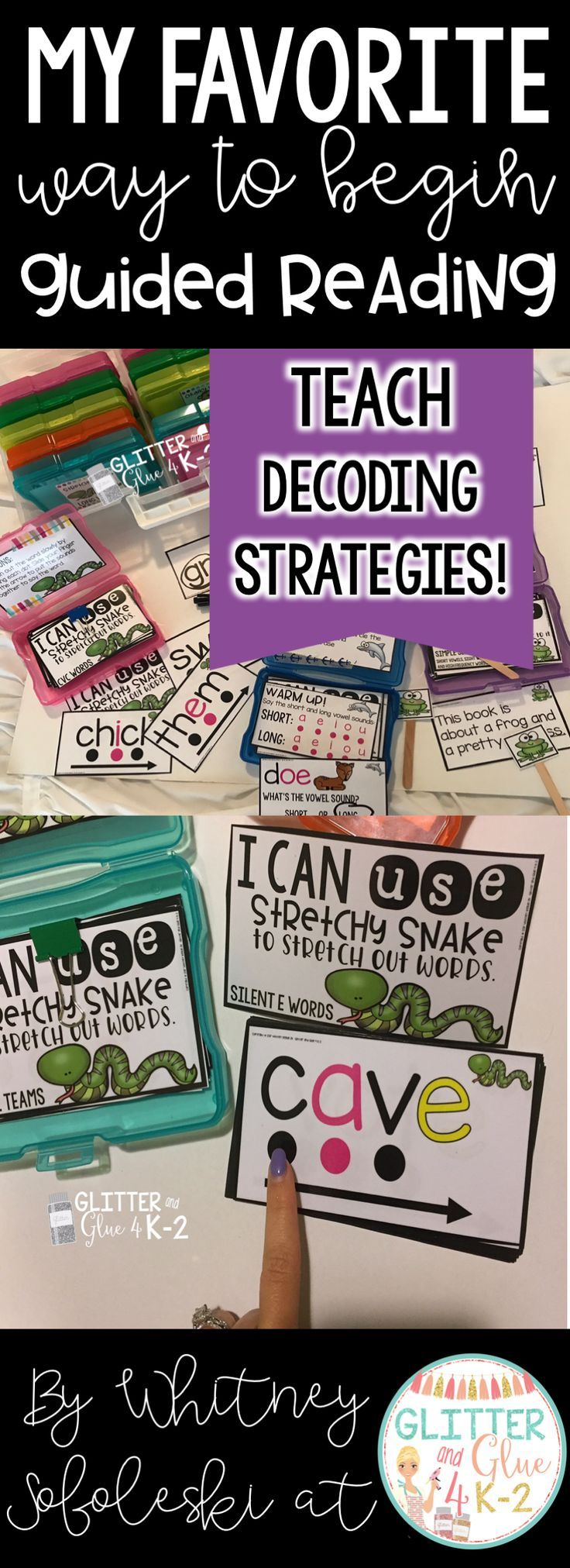 reading comprehension boxes to supplement guided reading sessons