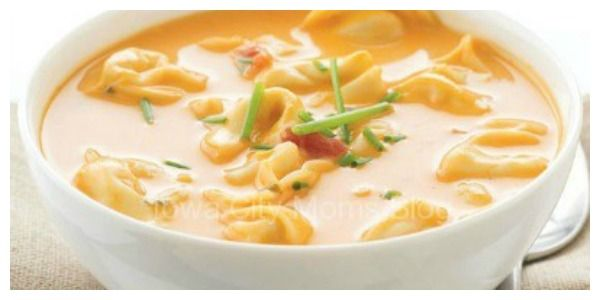 Cheesy Goodness: Tomato Tortellini Soup and Easy Chicken Alfredo