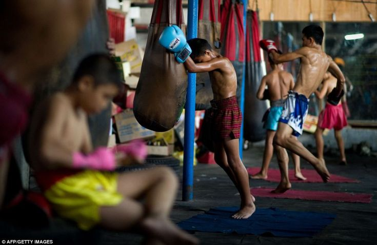 In Thailand children start practicing Muay Thai from a very early age and it is not uncommon for children ad young as eight to take part in tournaments in boxing stadiums
