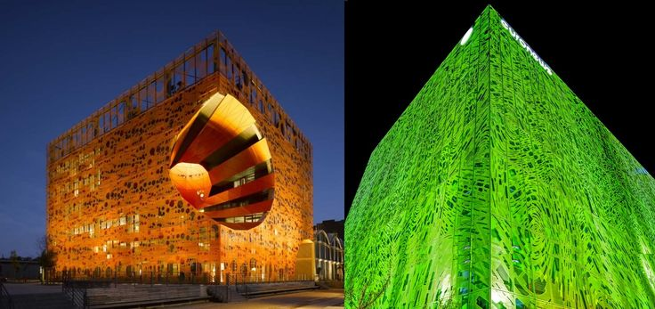 www.findiagroup.com The Orange Cube and the Green Cube, Lyon France https://www.facebook.com/FindiaGroupAB/posts/1604591769769512