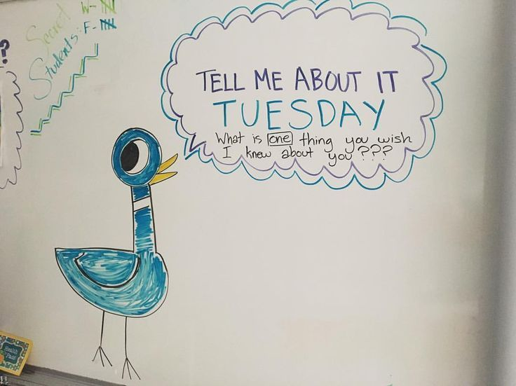 What a great way to get kids talking. We love Mo Willems