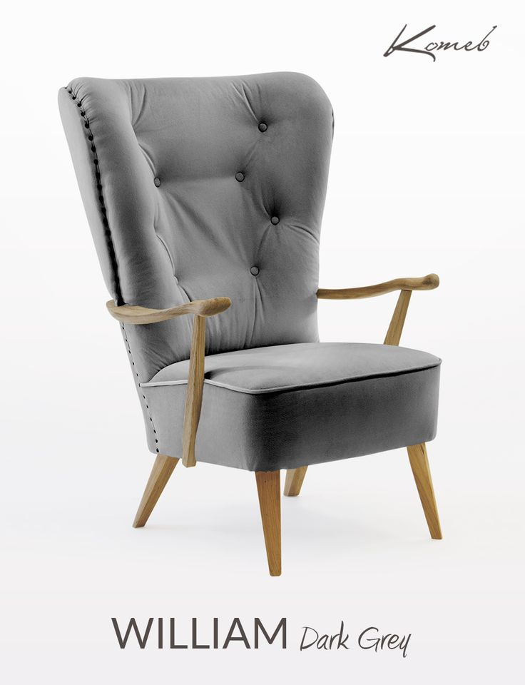 Fotel William spełni twoje marzenia o posiadaniu osobistego tronu! Usiądź, wygodnie i po królewsku. Przekonasz się jakie to wyjątkowe chwile.  #komeb #fotel  #armchair  #chair #wnętrze #pokój dzienny #livingroom #aranżacja #urządzanie #inspiracje #projektowanie #projekt #pomysł #design #room #home #meble #pokój #pokoj #dom #mieszkanie #jasne #oryginalne #kreatywne #nowoczesne #proste #wypoczynek #HomeDecor #fruniture #design #interior #naturalne