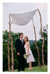 How to Build a Chuppah Jewish Wedding Canopy. Simple DIY Wedding Chuppah ideas and instructions How to Make a Chuppah for your Ceremony. & 394 best Jewish Weddings images on Pinterest | Jewish weddings ...