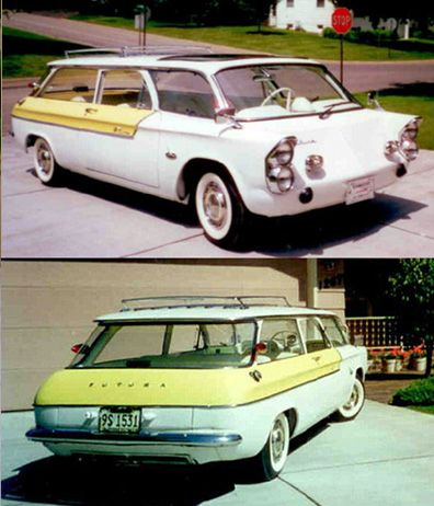 1954 CHEVROLET CORVAIR STATION WAGON***Research for possible future project.