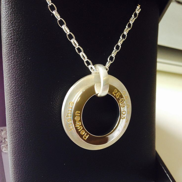 DELIGHT   Mix of Satin and Shiny Finish   Gold Filled Engraving