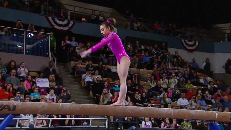Katelyn Ohashi - Balance Beam - 2013 AT American Cup            AMAZING