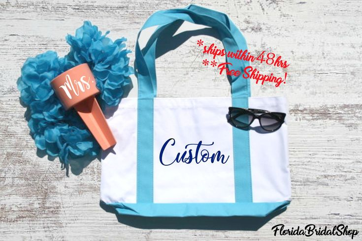 Excited to share the latest addition to my #etsy shop: Custom Tote bag maid of honor gift honeymoon gift mothers day gift bridesmaid proposal will you be my wedding tote bridal party gifts #maidofhonorgift #honeymoongift #mothersdaygift #bridesmaidproposal #weddingtote #yacht #boataccessories #yachtwedding #willyoubemybridesmaid #birthdaygiftideas #weddinggiftideas #beachbacheloretteparty #personalizedgifts #monogrammedgifts http://etsy.me/2D2MhQn