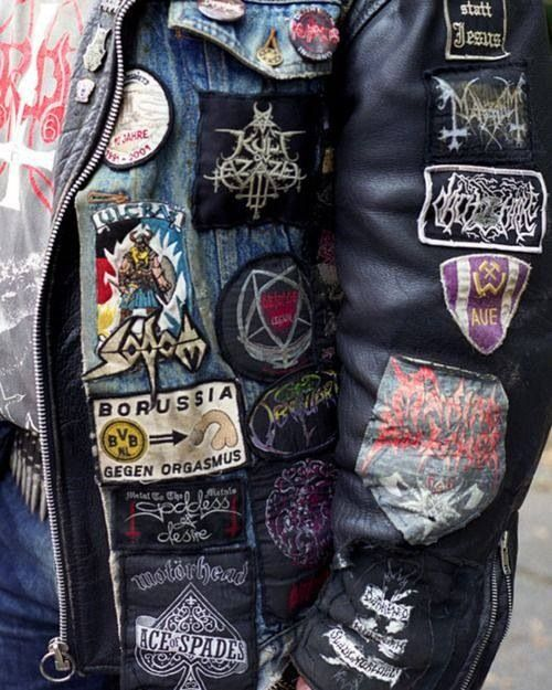 Custom leather patches for jackets