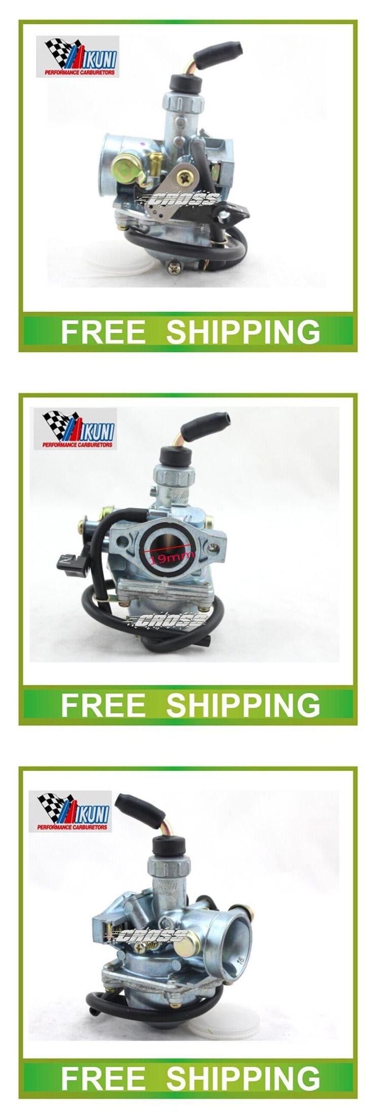 [Visit to Buy] 19mm carburetor mikuni vm16 50cc dirt bike atv pz19 performance BAJA50 XR50 CRF50 CRF70 Bike ATV free shipping #Advertisement