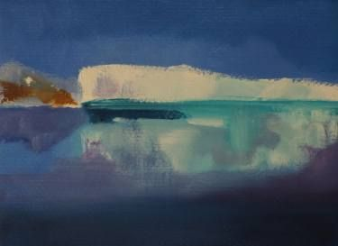 "Saatchi Art Artist Marta Zamarska; Painting, ""Winter Postcard 7"" #art"