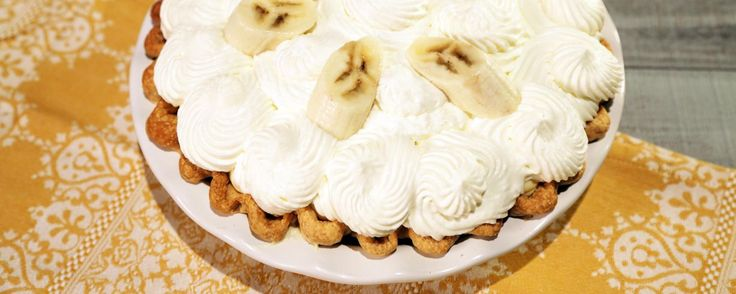 Banana Cream Pie (I will use the crust recipe from the Apple Cranberry Slab Pie...It's superb!)
