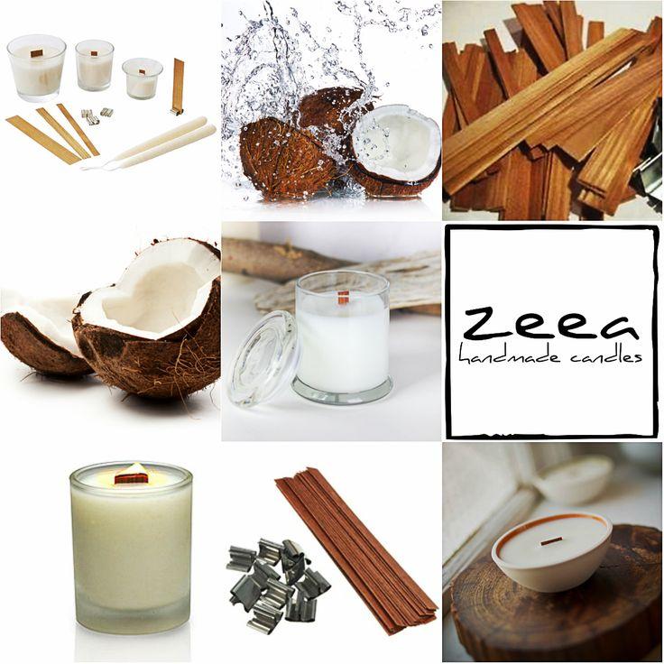 kolejna porcja inspiracji... naturalne świece z drewnianymi knotami już niedługo w naszym sklepie :)