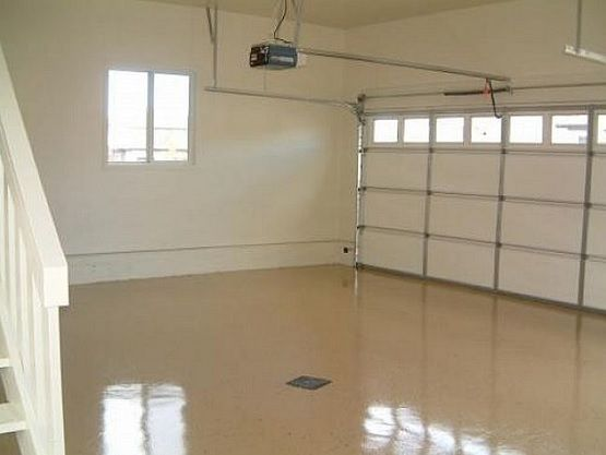 Light Brown Garage Floor Paint Ideas | Flooring Ideas | Floor Design Trends