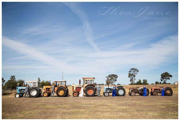 Tractor Landscape  - Horsham | Halls Gap | Hamilton | Grampians | Daylesford | Victoria | Wimmera | Australia | Country | Wedding Thea Jane Photography Photographer