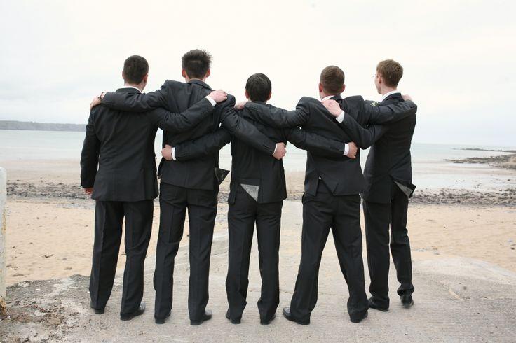 Boys #ushers #groom #bestman #posing #wedding