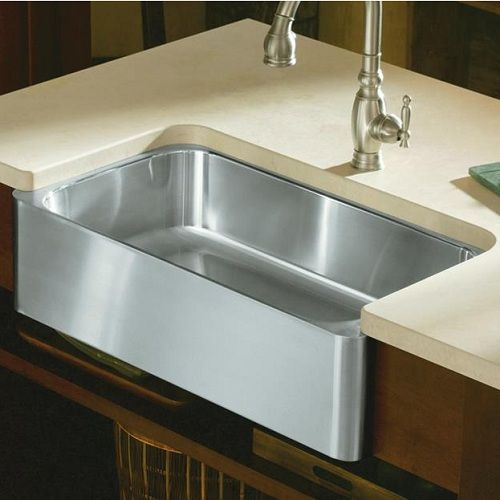 Kohler Stainless Apron Sink : Kohler Verity Stainless Steel Apron Front Kitchen Sink - 3086-NA ...