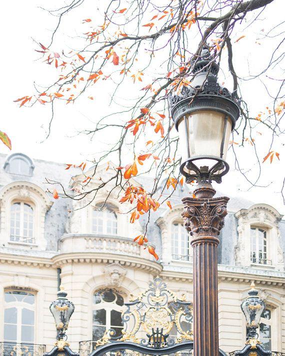 Paris Photography Autumn Farewell in Paris by GeorgiannaLane