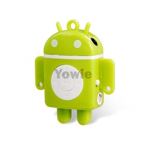 #КУПИТЬ http://yowie.ru/em0058g  MP3-плеер в виде робота Android станет прекрасным дополнением к вашему стилю жизни и обеспечит легкий доступ к любимой музыкальной коллекции. Также имеет встроенный аккумулятор, который позволит слушать музыку до 4 часов.  #интернетмагазин #плеер #тренировка #спорт #фитнес #прогулка #отдых #музыка