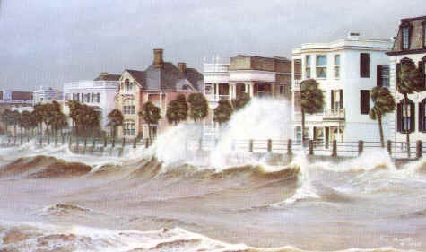 Storm Warnings, by Jim Booth..This is before Hurricane Hugo came through Charleston.