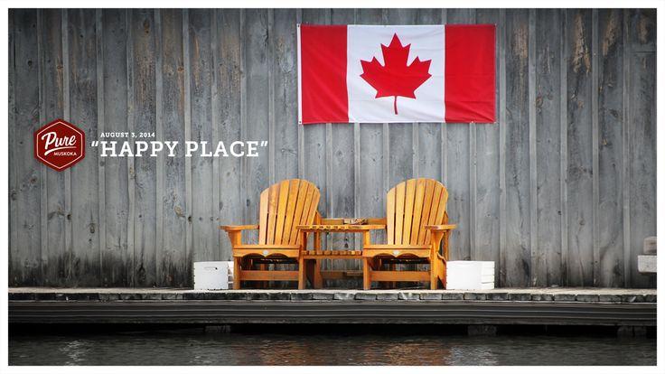 Muskoka, Canada is definitely my happy place!  #PureMuskoka #Muskoka