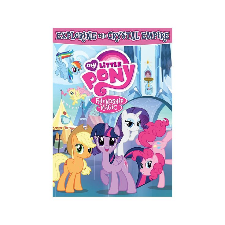 My Little Pony Friendship is Magic Exploring Crystal Empire (Dvd)