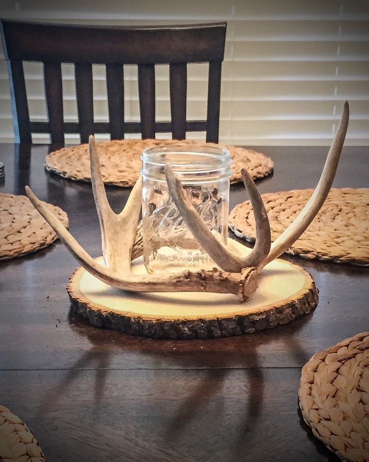 A personal favorite from my Etsy shop https://www.etsy.com/listing/235649758/real-deer-antler-centerpiece-table