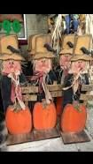 Image result for wooden scarecrows for sale