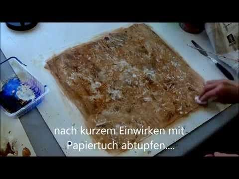 Spannende Strukturen in Acryl / exciting structures with acrylics Nr. 2 - YouTube