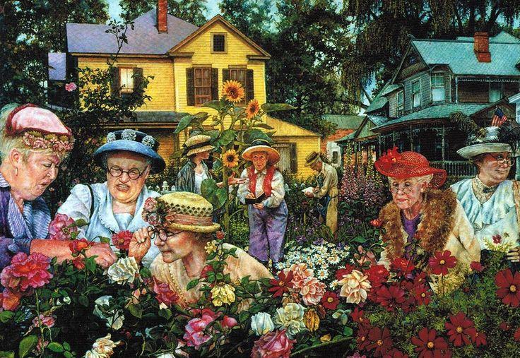 Живописные истории американской художницы Susan Brabeau