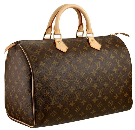 Five reasons everyone should own a Louis Vuitton Speedy.... I recently just purcahsed one of these babies for my own personal collection in the Monogram Canvas size 35. This bag was a constant staple in miss Hephorn's wardrobe and is one of the most recognizable bags in its collection. Since the monogram print comes with the un-treated Vachetta leather, I can't wait for it to start the patina process and develop of lovely honey brown color.
