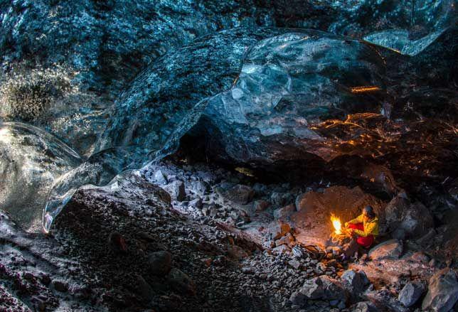 Le grotte di ghiaccio (Islanda)