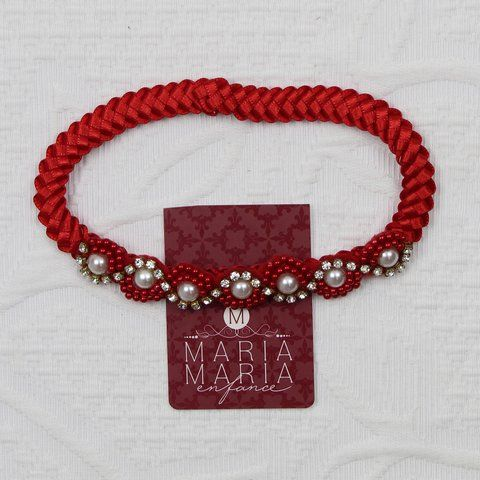 FAIXA TRANÇA VERMELHA - Comprar em MARIA MARIA ENFANCE