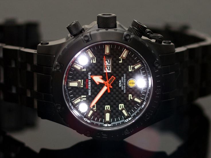 MTM Special Ops Black Vulture Titanium
