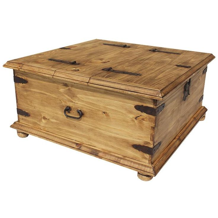 Trunk Coffee Table           http://www.lafuente.com/Mexican-Furniture/Rustic-Pine-Furniture/Coffee-Tables/86/